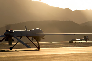 Predator and Reaper UAV Taxing