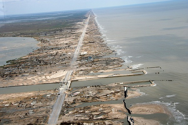 Hurricane Ike Storm Surge Damage