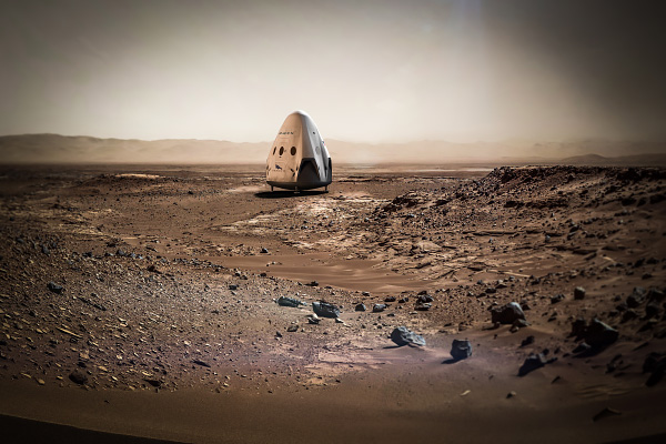 SpaceX Dragon to Mars