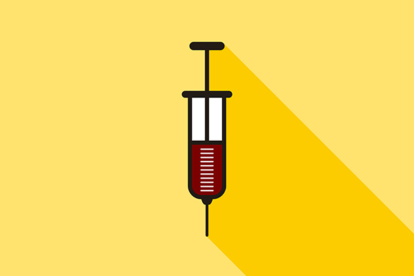 Vector Medical Syringe Icon