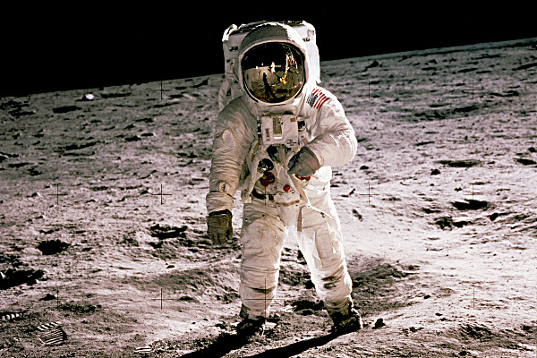 Walking on the Lunar Surface
