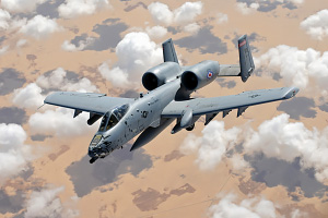 A 10 Thunderbolt II In Flight