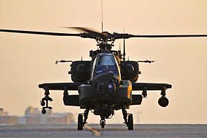 AH 64 Apache Attack Helicopter
