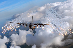 Air Force AC 130U Gunship