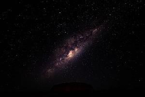 Ayers Rock and the Milky Way