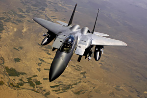 F 15E Strike Eagle Aircraft