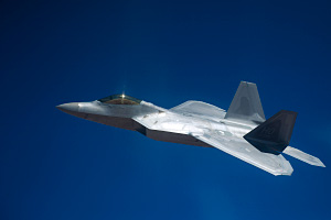 F 22 Air to Air Combat Mission