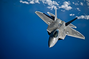 F 22 Raptor After Refueling
