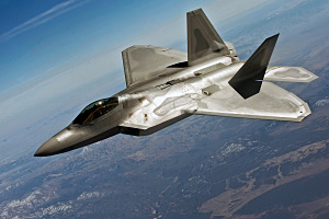 F 22 Raptor Fighter Aircraft