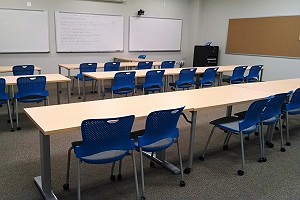 Higher Education Classroom