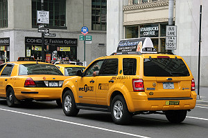 Hybrid Yellow Taxi SUV