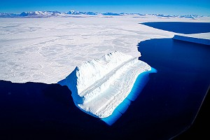 Iceberg in McMurdo Sound