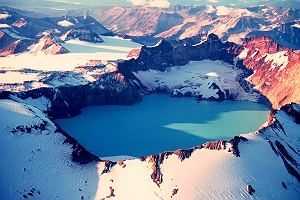 Katmai Crater in Southwest Alaska