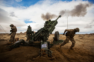 M777 A2 Howitzer Firing Exercise