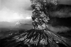 Mount St Helens Volcano Eruption