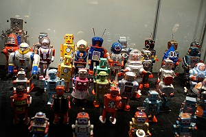 Robot Toy Army