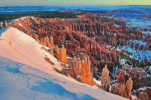 Snow at Bryce Canyon National Park