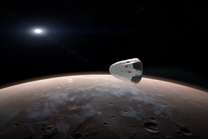 SpaceX Dragon to Mars Ver2
