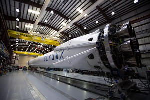 SpaceX Falcon 9 Prep