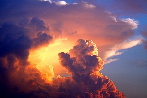 Sunset Storm Clouds