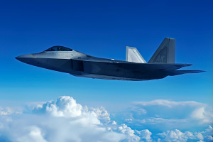 US Air Force F 22 Raptor