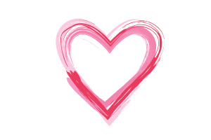 Vector Brush Heart
