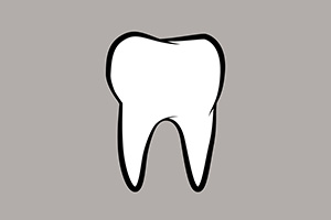 Vector Dental Tooth Icon
