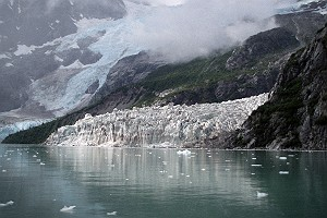 Vintage Anchor Glacier in Alaska
