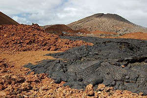 Volcanic Landscape Galapagos Islands